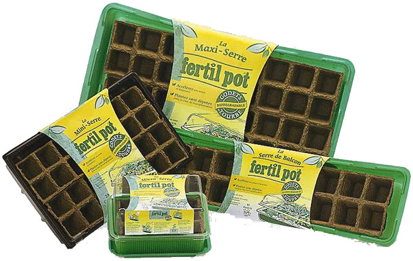 multi cell biodegradable trays